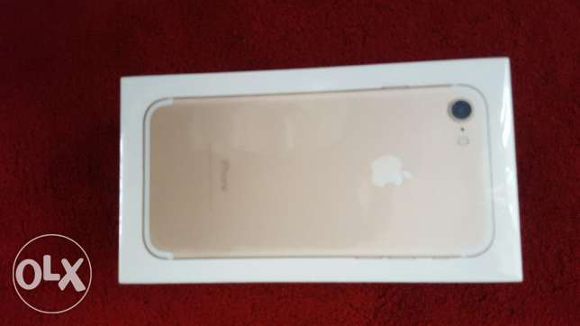 Iphone 7 - NEW in the box - 128gb, gold