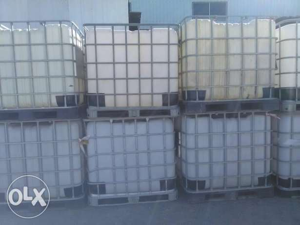 Empty used tanks for sell