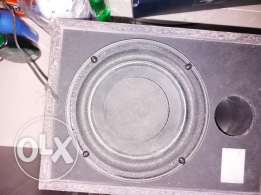 philips 6 inch sub wooffer box ,made taiwan good quality bass