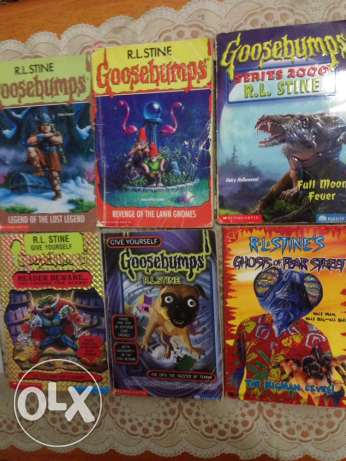 Goosebumps Novels