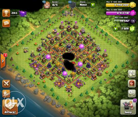 clash of clan - COC TH10 MAXXX