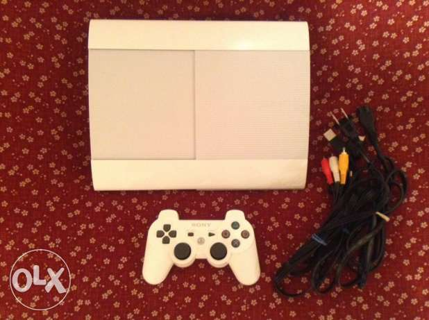 ps3 super slim with all accessories