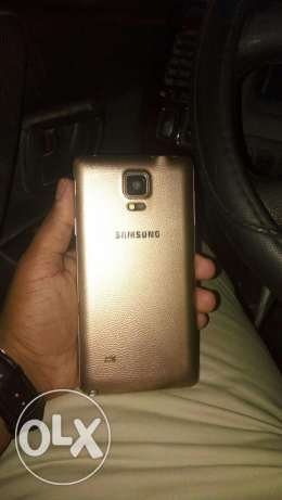 Note 4 gold 32 gb for sale