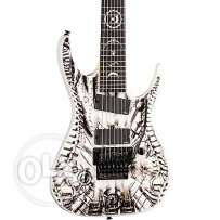 7 string electric guitar dean rusty cooley