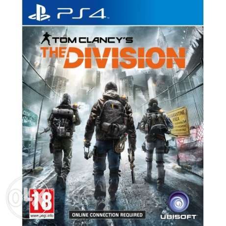 PS4 game- the division- original 100%