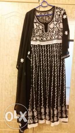 Beautiful Anarkali frock full abaya langth