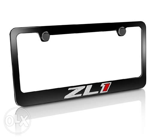 Canary ZL1 licence plate