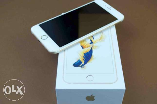 For Sale iPhone 6s Plus - 128GB - Gold Color سلوى -  2