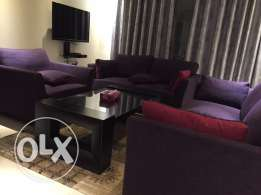 fully furnished 2bed room apartment.