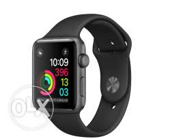 Apple watch series 1 Sport band Black 42mm