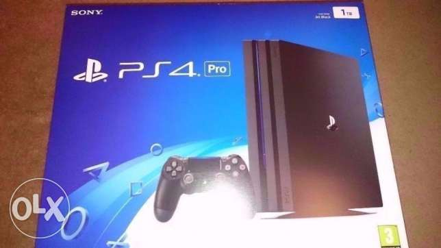 - Play station 4 - Playstation 4 - بلاي ستيشن _ TOTALLY NEW ( SEALED