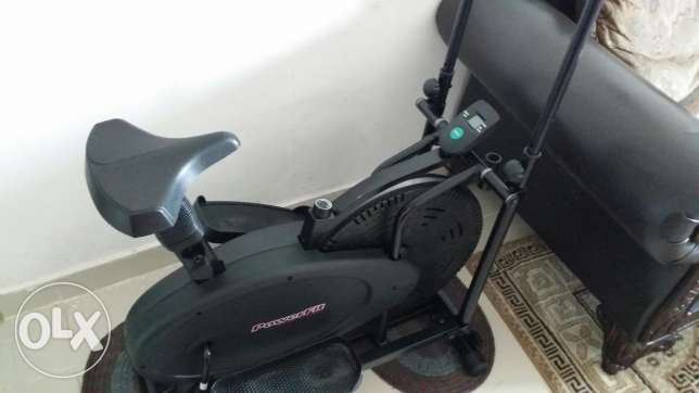 Elliptical Upright Cycle