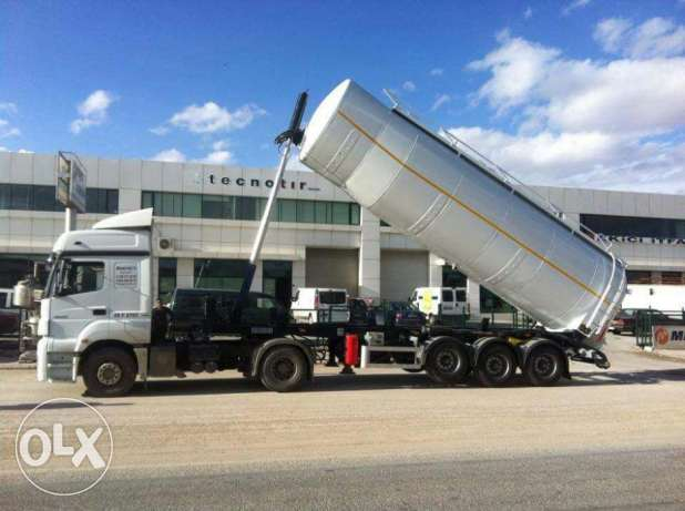 new all type of cement tanker for sale with branded parts not china