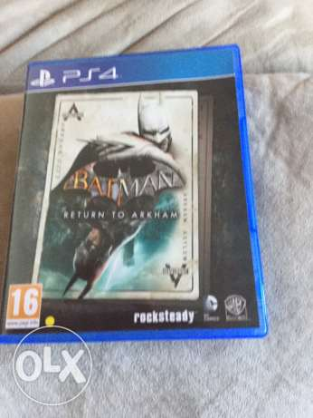 Batman return to Arkham (2 games) for ps4 in good condition