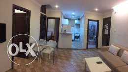 للايجار شقه مفروشه Rent two-bedroom furnished apartment in Abu Halifa