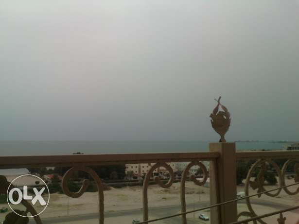 4 bedroom floor with sea view, balcony in mangaf