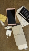Galaxy note 4 pink with all accessories