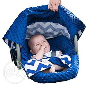 Car seat canopy whole caboodle-5pc set