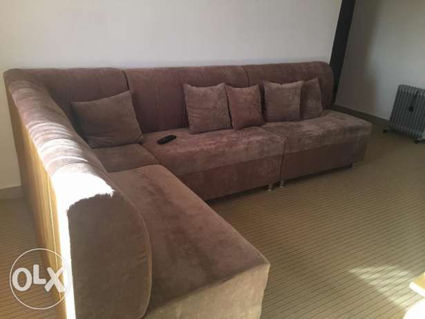 Cornered Sofa in excellent condition