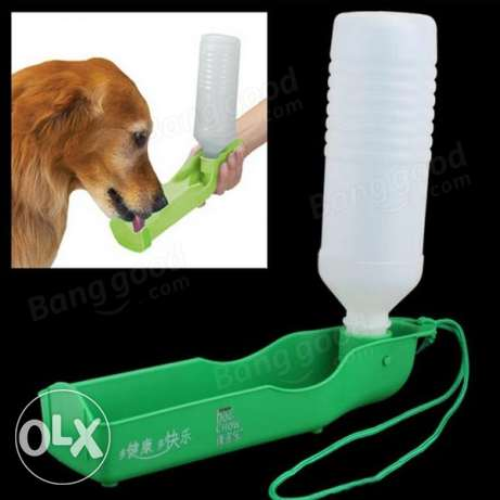 Portable Water Bottle for Dogs on the Go