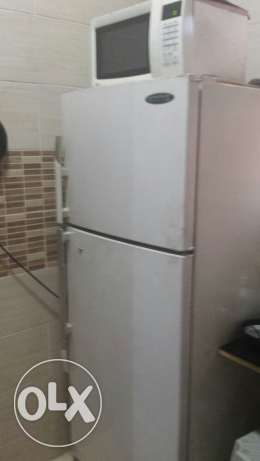 Westpoint Regfrigerator With LG Microwave Oven