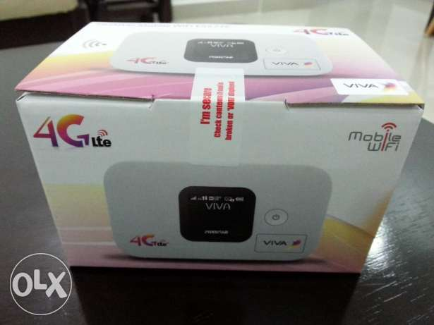 4G VIVA new router for sale 20 KD.