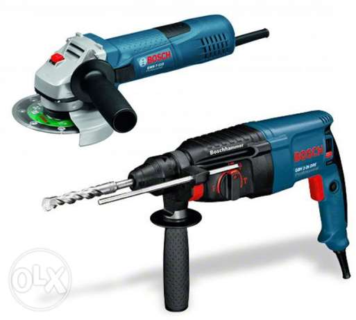 Bosch Rotary Hammer With Angle grinder 115mm