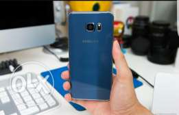 Samsung Galaxy S6 edge plus blue