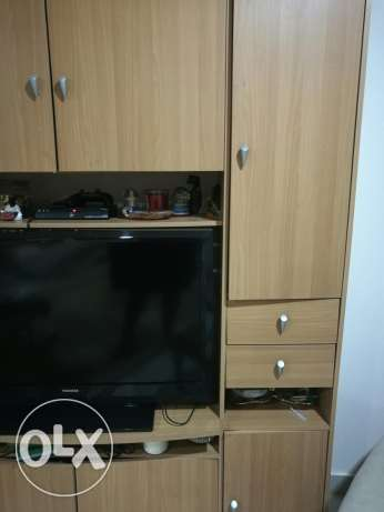 Beautiful TV console with lots of storage