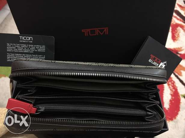 TUMI Large Zip-Around Travel Wallet