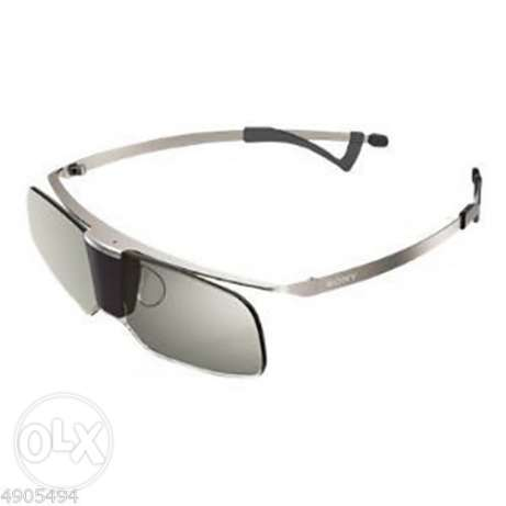 Sony Genuine TDG-BR750 Active 3D Titanium Glasses