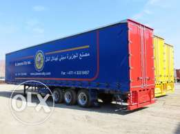 Brand new Curtain Box Trailer 15 meter