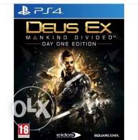 Deus Ex mankind divided For Ps4