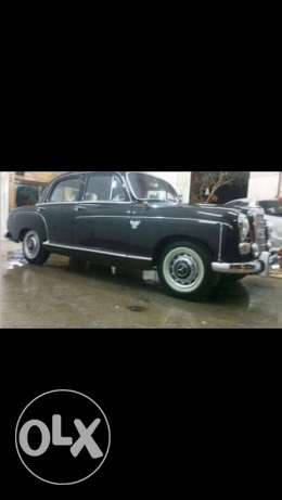 Antique Mercedes master piece 180 diesel 1958