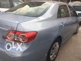 TOYOTA corolla 2012 excellent condition neat and clean.