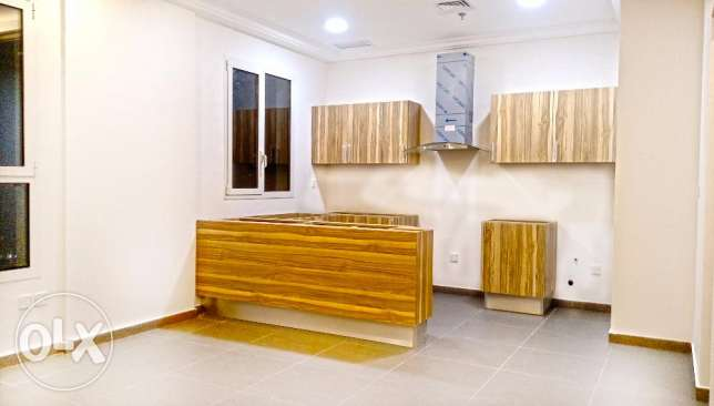 Brand new unfurnished 2 bedroom flat close to the beach KD 400