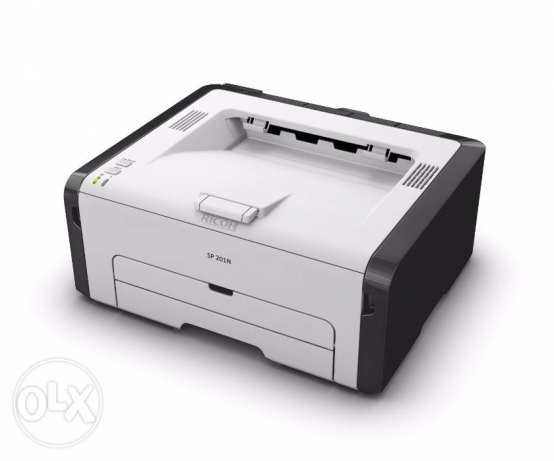 Ricoh SP 201N LASER PRINTER - brand new and still in box الرقعي -  1