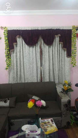 3 curtains for sale.well maintained.