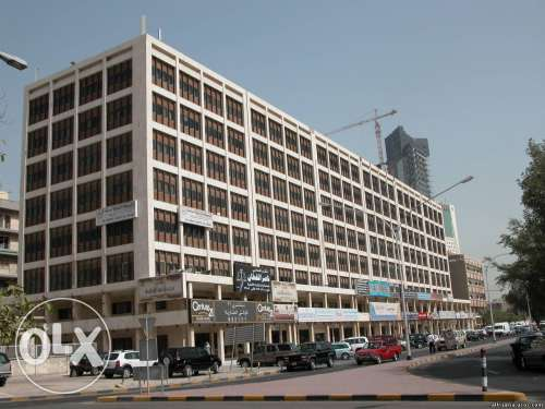 Half floor office unit available in sharq !