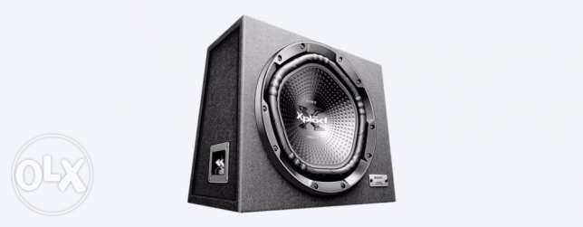 subwoofer+amplifer