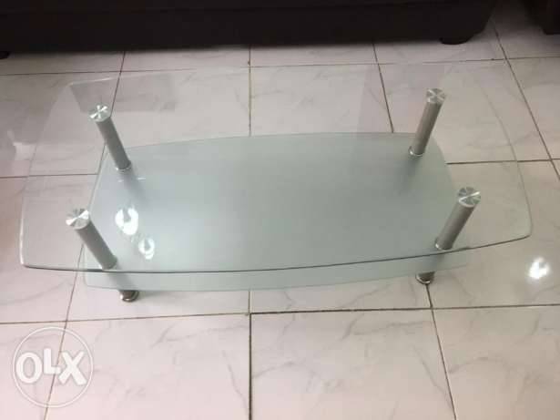 Center Table - Glass
