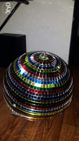 Rotating party Disco ball