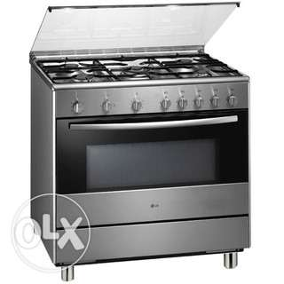 Hyundai Heavy Duty Gas Cooker, Gas Oven, Gas Grill, Digital Timer,