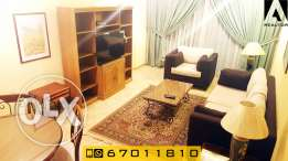 cozy one bedroom apartment furnished for rent in Salmiya