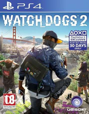 Watch Dogs 2 - PS4 game ابو حليفة -  1