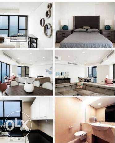 Luxury Sea view 3 bedroom apartment for rent in Sharq for 1300 KD.