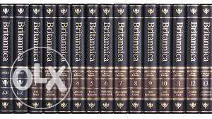 Britannica Encyclopedia Set - original