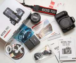 canon 70D as new