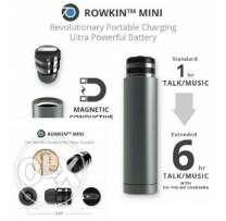 Mini Bluetooth headset with charging dock by Rowkin