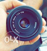 Canon Lens EF 40mm